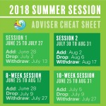 Adviser Summer Session Information